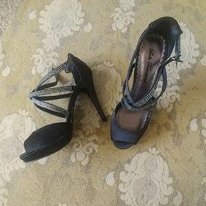 Black Platform Stiletto Heels